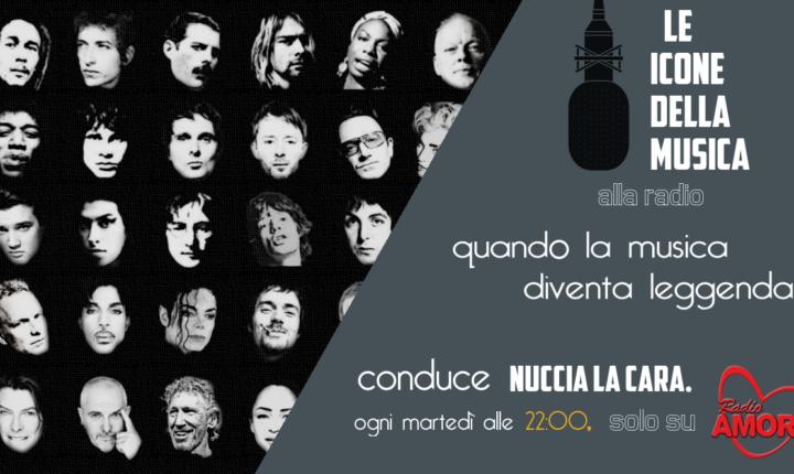 LE ICONE DELLA MUSICA ALLA RADIO