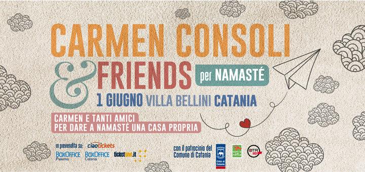 Carmen Consoli a Catania