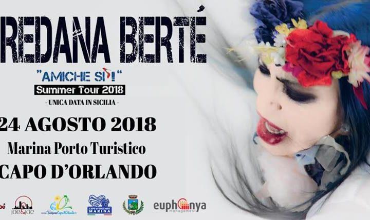Loredana Bertè a Capo d'Orlando