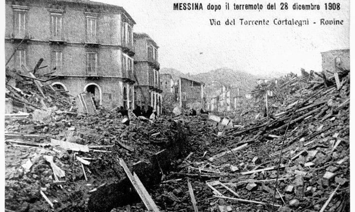 CURIOSITA' (AMARE) SUL TERREMOTO DEL 1908