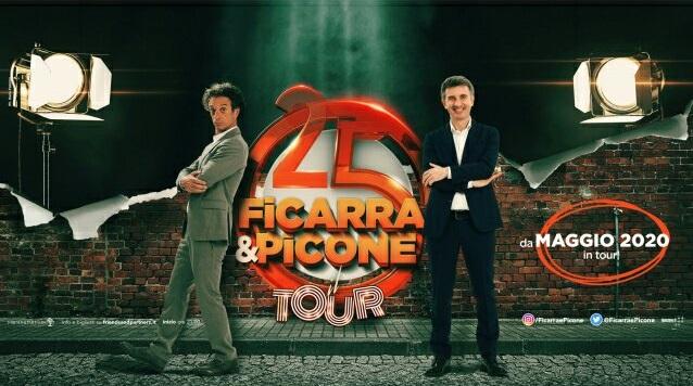 """Periodo d'oro per il duo comico """"Ficarra e Picone"""""""
