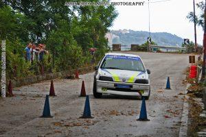 Alessio Truscello su Peugeot 106 A1400